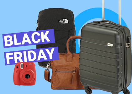 Black Friday: Reisartikelen 40%